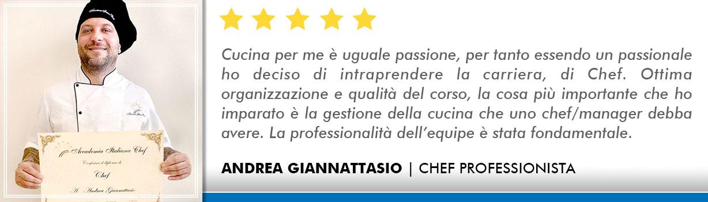Corso Chef a Bologna Opinioni - Giannattasio