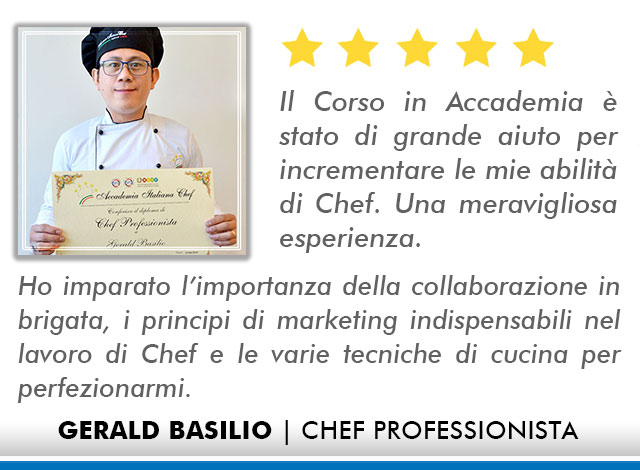 Corso Chef a Bologna Opinioni - Basilio