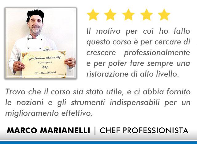 Corso Chef a Bologna Opinioni - Marianelli