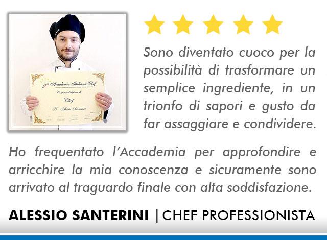Corso Chef a Bologna Opinioni - Santerini