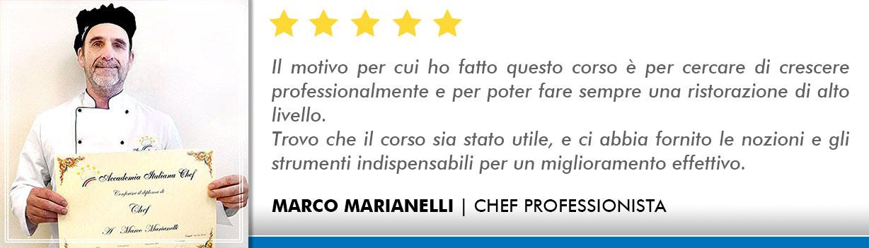Corso Chef a Bologna Opinioni -Marianelli