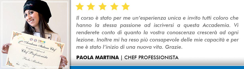 Corso Chef a Bologna Opinioni - Martina