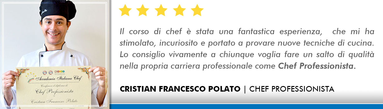 Corso Chef a Bologna Opinioni - Polato