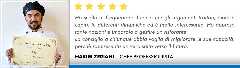 Corso Chef a Bologna Opinioni - Zeriani