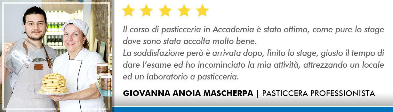 Corso Pasticcere a Bologna Opinioni - Anoia-Mascherpa