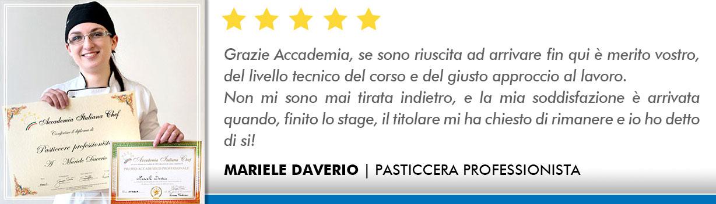 Corso Pasticcere a Bologna Opinioni - Daverio