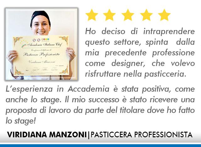 Corso Pasticcere a Bologna Opinioni - Manzoni