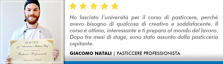 Corso Pasticcere a Bologna Opinioni - Natali