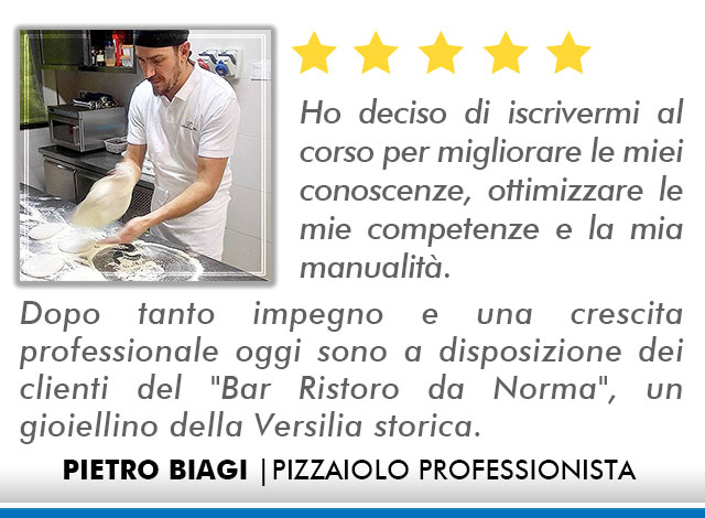 Corso Pizzaiolo a Bologna Opinioni - Biagi