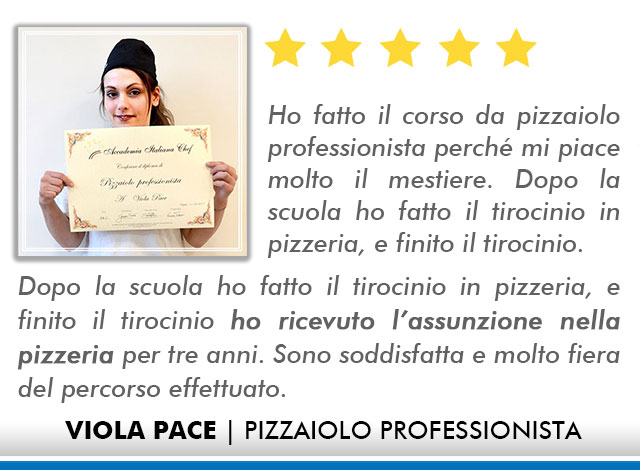 Corso Pizzaiolo a Bologna Opinioni - Pace