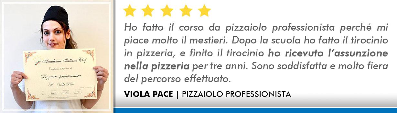 Opinioni Corso Pizzaiolo Bologna - Pace