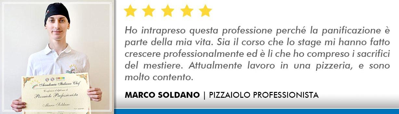 Opinioni Corso Pizzaiolo Bologna - Soldano