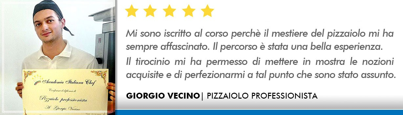 Opinioni Corso Pizzaiolo Bologna - Vecino