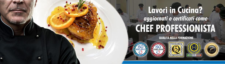 Corso di Chef Professionista a Bologna